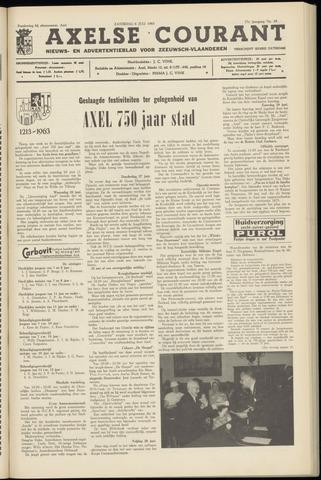 Axelsche Courant 1963-07-06