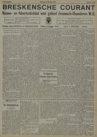 Breskensche Courant 1937-10-26