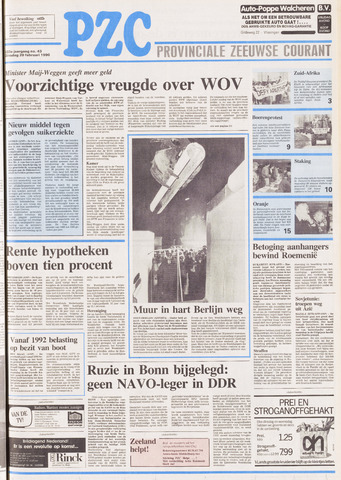 Provinciale Zeeuwse Courant 1990-02-20