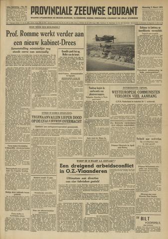 Provinciale Zeeuwse Courant 1951-03-05
