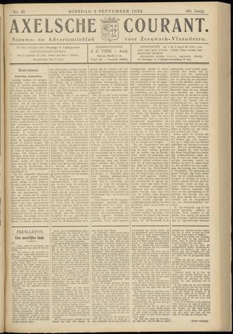 Axelsche Courant 1932-09-06