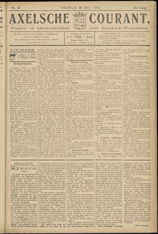Axelsche Courant 1925-05-29
