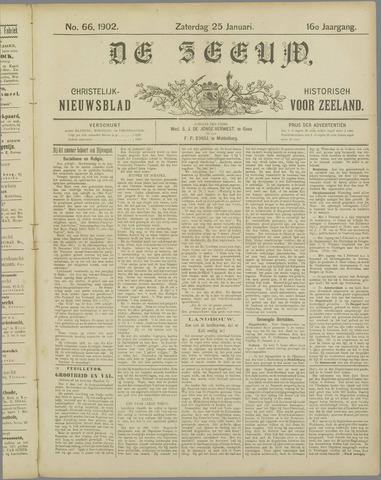De Zeeuw. Christelijk-historisch nieuwsblad voor Zeeland 1902-01-25