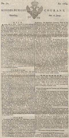 Middelburgsche Courant 1764-06-16