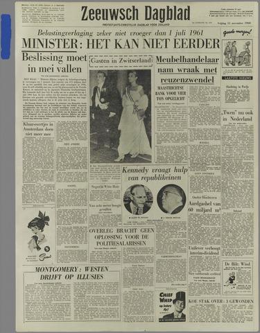 Zeeuwsch Dagblad 1960-11-11