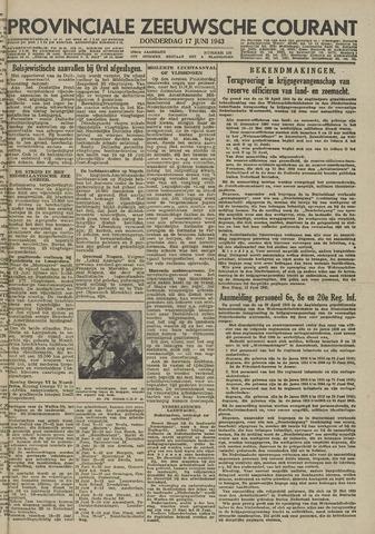 Provinciale Zeeuwse Courant 1943-06-17