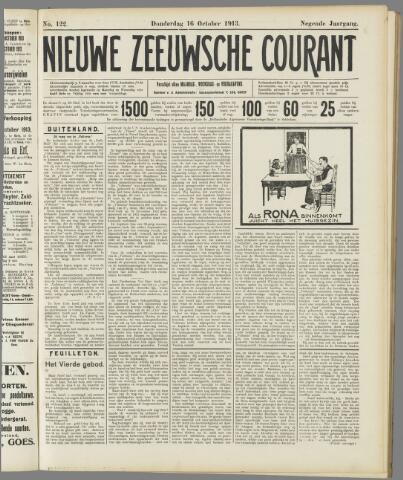Nieuwe Zeeuwsche Courant 1913-10-16
