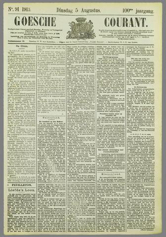 Goessche Courant 1913-08-05