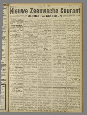 Nieuwe Zeeuwsche Courant 1920-05-11