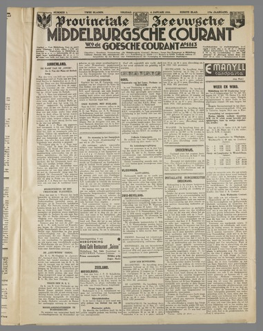 Middelburgsche Courant 1935-01-04
