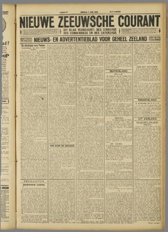 Nieuwe Zeeuwsche Courant 1928-06-05