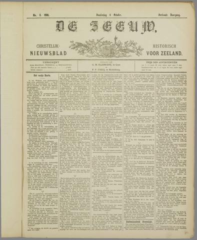 De Zeeuw. Christelijk-historisch nieuwsblad voor Zeeland 1898-10-06