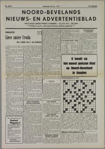 Noord-Bevelands Nieuws- en advertentieblad 1979-06-28