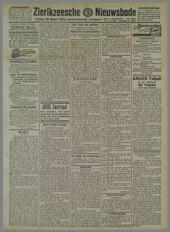 Zierikzeesche Nieuwsbode 1930-03-28