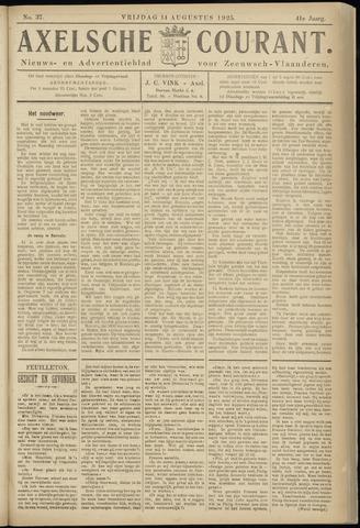 Axelsche Courant 1925-08-14