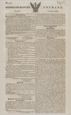 Middelburgsche Courant 1834-08-09