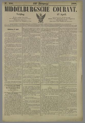 Middelburgsche Courant 1888-04-27
