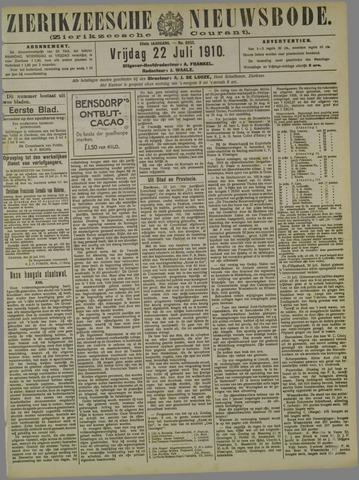 Zierikzeesche Nieuwsbode 1910-07-22