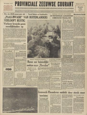 Provinciale Zeeuwse Courant 1963-04-13