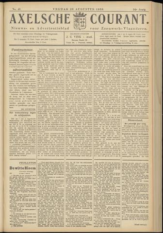 Axelsche Courant 1938-08-26