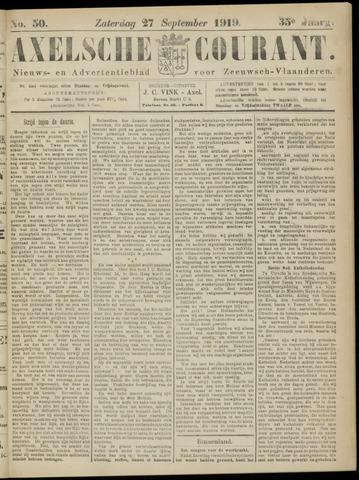 Axelsche Courant 1919-09-27