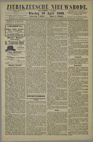 Zierikzeesche Nieuwsbode 1900-04-10