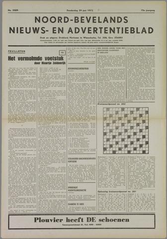 Noord-Bevelands Nieuws- en advertentieblad 1972-06-29