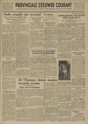 Provinciale Zeeuwse Courant 1949-10-11