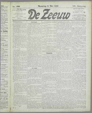 De Zeeuw. Christelijk-historisch nieuwsblad voor Zeeland 1919-05-05