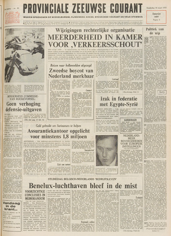 Provinciale Zeeuwse Courant 1972-03-16