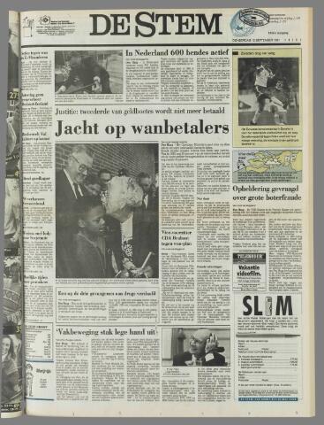 de Stem 1991-09-12