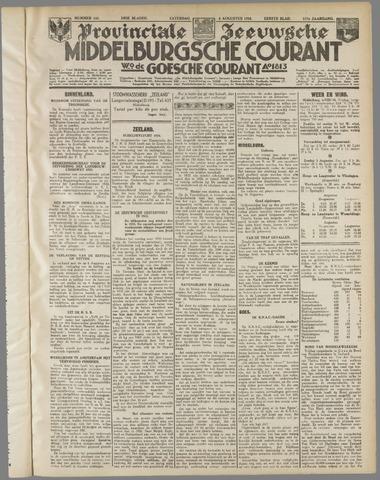 Middelburgsche Courant 1934-08-04