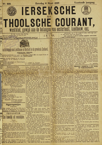 Ierseksche en Thoolsche Courant 1897