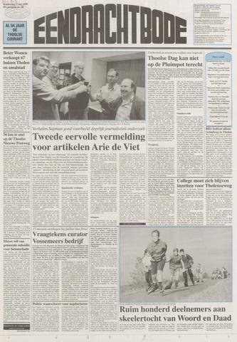 Eendrachtbode (1945-heden)/Mededeelingenblad voor het eiland Tholen (1944/45) 1999-05-27