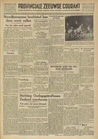 Provinciale Zeeuwse Courant 1950-10-17