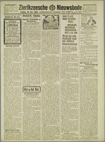 Zierikzeesche Nieuwsbode 1924-10-24