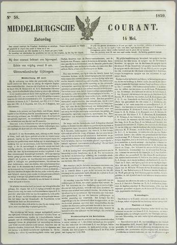 Middelburgsche Courant 1859-05-14