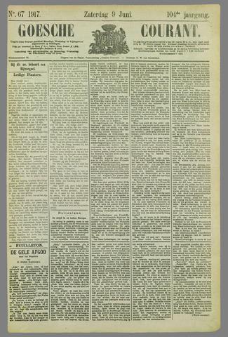 Goessche Courant 1917-06-09
