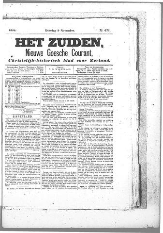 Nieuwe Goessche Courant 1880-11-09