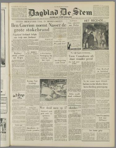 de Stem 1956-10-18