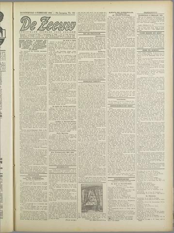 De Zeeuw. Christelijk-historisch nieuwsblad voor Zeeland 1944-02-03