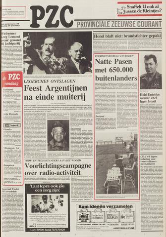 Provinciale Zeeuwse Courant 1987-04-21