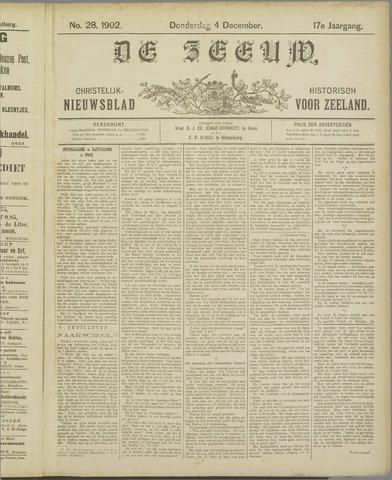 De Zeeuw. Christelijk-historisch nieuwsblad voor Zeeland 1902-12-04
