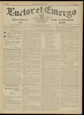 Luctor et Emergo. Antirevolutionair nieuws- en advertentieblad voor Zeeland / Zeeuwsch-Vlaanderen. Orgaan ter verspreiding van de christelijke beginselen in Zeeuwsch-Vlaanderen 1915-05-15