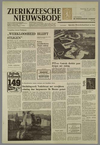 Zierikzeesche Nieuwsbode 1975-04-10