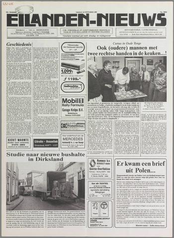 Eilanden-nieuws. Christelijk streekblad op gereformeerde grondslag 1989-11-24