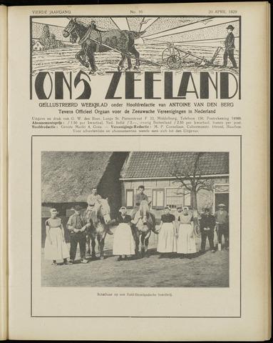 Ons Zeeland / Zeeuwsche editie 1929-04-20
