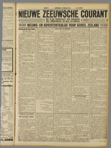 Nieuwe Zeeuwsche Courant 1928-02-09