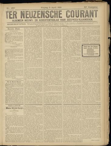 Ter Neuzensche Courant. Algemeen Nieuws- en Advertentieblad voor Zeeuwsch-Vlaanderen / Neuzensche Courant ... (idem) / (Algemeen) nieuws en advertentieblad voor Zeeuwsch-Vlaanderen 1929-04-05