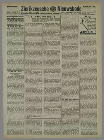 Zierikzeesche Nieuwsbode 1933-09-20